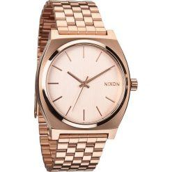 Zegarki damskie: Zegarek damski All Rose Gold Nixon Time Teller A0451897