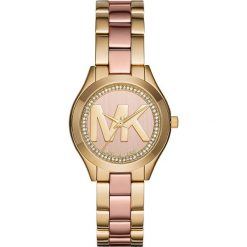 Zegarek MICHAEL KORS - Mini Slim Runway MK3650 Gold/Rose Gold/Gold. Żółte zegarki damskie Michael Kors. Za 1150,00 zł.