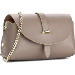 Torebka CREOLE - K10448  Cappucino. Brązowe torebki klasyczne damskie Creole, ze skóry. Za 109,00 zł.