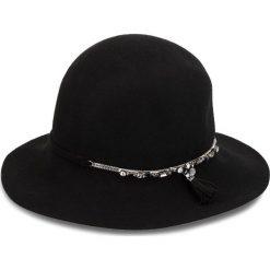 Kapelusz LIU JO - Capello Feltro Cat N68295 T0300 Nero 22222. Czarne kapelusze damskie Liu Jo, z materiału. Za 389,00 zł.