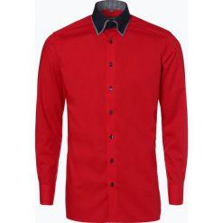 Koszule męskie na spinki: Finshley & Harding – Koszula męska, czerwony