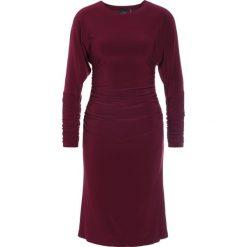Odzież damska: Norma Kamali DOLMAN Sukienka z dżerseju plum