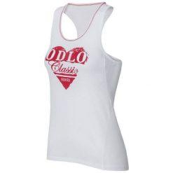 Odlo Koszulka damska Singlet crew neck Cubic Trend biała r. L. Białe topy sportowe damskie Odlo, l. Za 109,46 zł.