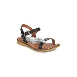 Sandały Dziecko  Adolie  LAZAR FEATHER. Czerwone sandały dziewczęce marki Born2be, z materiału, z otwartym noskiem, na zamek. Za 239,20 zł.