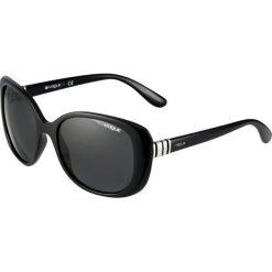 VOGUE Eyewear Okulary przeciwsłoneczne black. Czarne okulary przeciwsłoneczne damskie aviatory VOGUE Eyewear. Za 489,00 zł.