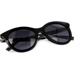 Okulary przeciwsłoneczne damskie aviatory: Okulary przeciwsłoneczne BOSS – 0310/S Black White 80S
