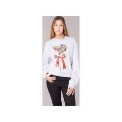 Bluzy Love Moschino  W630602. Szare bluzy rozpinane damskie Love Moschino. Za 679,20 zł.