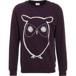 Bejsbolówki męskie: Knowledge Cotton Apparel BIG OWL Bluza plum perfect
