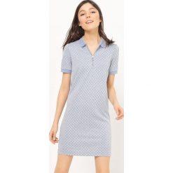 Sukienki hiszpanki: Sukienka z krótkim rękawem z wiskozy