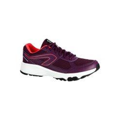 Buty do biegania RUN CUSHION GRIP damskie. Fioletowe buty sportowe damskie marki KALENJI, z gumy, do biegania. W wyprzedaży za 69,99 zł.