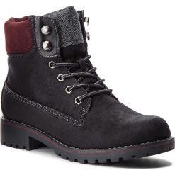 Trapery JENNY FAIRY - WS722-28B Black. Czarne buty zimowe damskie Jenny Fairy, ze skóry ekologicznej. Za 129,99 zł.