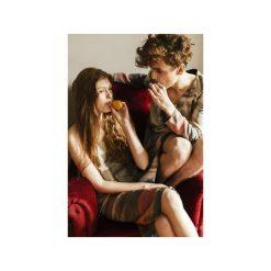 Płaszcze damskie pastelowe: Płaszcz Sukienka Eva