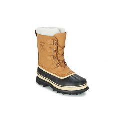 Śniegowce Sorel  CARIBOU. Brązowe buty zimowe damskie Sorel. Za 699,99 zł.