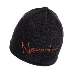 Czapki męskie: NEVERLAND Czapka męska Note czarno-pomarańczowa (P-04-NOTE-485-UNI)
