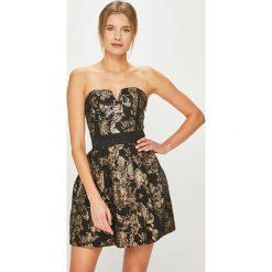 Tally Weijl - Sukienka. Szare sukienki mini marki TALLY WEIJL, na co dzień, l, z bawełny, casualowe, rozkloszowane. Za 169,90 zł.