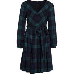 J.CREW JACKAL BLACKWATCH PLAID Sukienka letnia blue/green. Zielone sukienki letnie J.CREW, z materiału. W wyprzedaży za 501,75 zł.