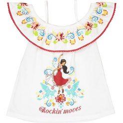 Bluzki dziewczęce bawełniane: Top z odkrytymi ramionami 4/10 lat