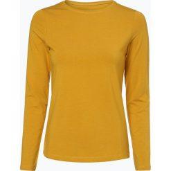 Franco Callegari - Damska koszulka z długim rękawem, żółty. Żółte t-shirty damskie Franco Callegari, z bawełny. Za 89,95 zł.