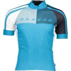 """T-shirty męskie: Koszulka kolarska """"Chase Out"""" w kolorze błękitnym"""