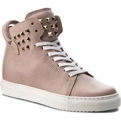 Sneakersy CARINII - B3770  K14-K14-000-B67. Czerwone sneakersy damskie Carinii, z materiału. W wyprzedaży za 329,00 zł.
