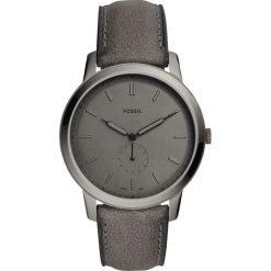 Zegarek FOSSIL - The Minimalist - Mono FS5445  Gray/Smoke. Różowe zegarki męskie marki Fossil, szklane. Za 595,00 zł.