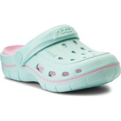 Klapki dziewczęce: Klapki COQUI – Jumper 6353 Lt Mint/Pink