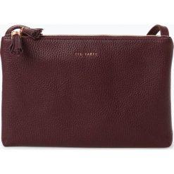 Ted Baker - Damska torba na ramię ze skóry – Maceyy, lila. Czarne torebki klasyczne damskie marki Ted Baker, z materiału. Za 659,95 zł.