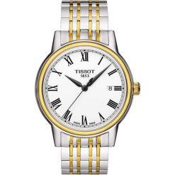 RABAT ZEGAREK TISSOT T-CLASSIC T085.410.22.013.00. Białe zegarki męskie TISSOT, ze stali. W wyprzedaży za 1276,00 zł.