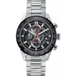 ZEGAREK TAG HEUER CARRERA CAR201V.BA0714. Czarne zegarki męskie marki KALENJI, ze stali. Za 21690,00 zł.