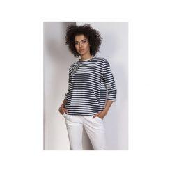 Luźna bluzka-frak, BLU140. Czarne bluzki nietoperze marki Lanti, biznesowe. Za 119,00 zł.