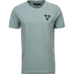 T-shirty męskie z nadrukiem: Suit NOTE Tshirt z nadrukiem pale teal