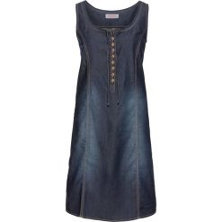 Sukienki: Sukienka dżinsowa bonprix ciemnoniebieski