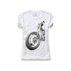 Koszulka UNDERWORLD Ring spun cotton Motor. Białe t-shirty damskie Underworld, m, z nadrukiem, z bawełny. Za 59,99 zł.