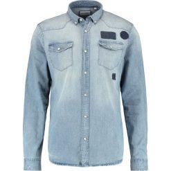 Koszule męskie na spinki: Shine Original Koszula denim