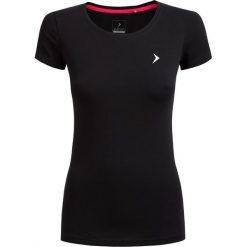T-shirt damski TSD600 - czarny - Outhorn. Czarne t-shirty damskie Outhorn, z bawełny. W wyprzedaży za 24,99 zł.