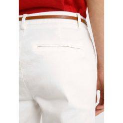 Chinosy damskie: b.young DAYS CIGARET PANTS  Chinosy off white