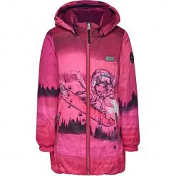 Kurtka zimowa w kolorze różowym. Czerwone kurtki dziewczęce zimowe Lego Wear Snow. W wyprzedaży za 225,95 zł.