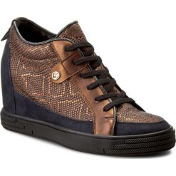 Sneakersy SENSO - 145868-1 Livery Small Miedz. Brązowe sneakersy damskie Senso, ze skóry. W wyprzedaży za 269,00 zł.