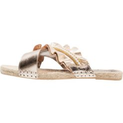 Sandal, Sandales Bout Ouvert Femme Gold (Gold/Beige), 38Xyxyx