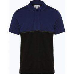 Lacoste - Męska koszulka polo, niebieski. Szare koszulki polo marki Lacoste, z bawełny. Za 379,95 zł.