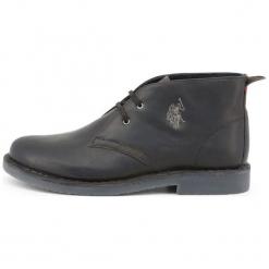 U.S. Polo Assn. Buty Za Kostkę Męskie Must 41 Czarne. Czarne buty wizytowe męskie U.S. Polo Assn., ze skóry. Za 519,00 zł.