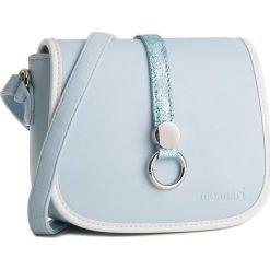 Torebka MONNARI - BAG3480-012  Light Blue 012. Niebieskie listonoszki damskie Monnari, ze skóry ekologicznej. W wyprzedaży za 99,00 zł.