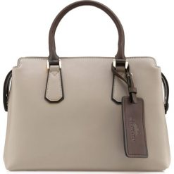 Torebka damska 85-4E-208-9. Brązowe torebki klasyczne damskie Wittchen, w paski. Za 499,00 zł.
