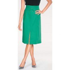 Odzież damska: Spódnica w kolorze zielonym
