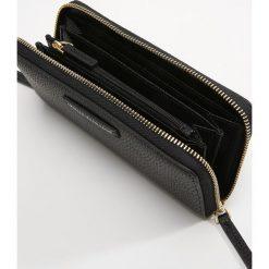 1becd36b03866e Za 439 Armani Exchange Portfel black. Czarne portfele damskie Armani  Exchange, bez wzorów. Za 439