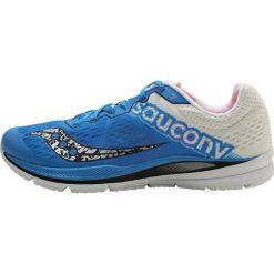 Saucony FASTWITCH Obuwie do biegania treningowe blue/white. Niebieskie buty do biegania męskie Saucony, z materiału. Za 529,00 zł.