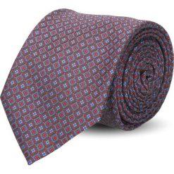Krawaty męskie: krawat platinum bordo classic 229