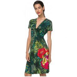 Desigual Sukienka Damska Maroni Xs Zielony. Zielone sukienki marki Desigual, xs. W wyprzedaży za 211,00 zł.