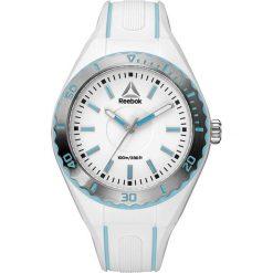 Zegarki damskie: Zegarek kwarcowy w kolorze biało-niebiesko-srebrnym