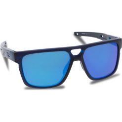 Okulary przeciwsłoneczne OAKLEY - Crossrange Patch OO9382-0360 Matte Translucent Blue/Prizm Sapphire Iridium. Niebieskie okulary przeciwsłoneczne męskie aviatory Oakley, z tworzywa sztucznego. W wyprzedaży za 579,00 zł.